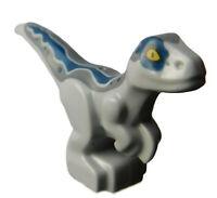 Lego Dinosaurier Baby stehend hellgrau (light bluish gray) Drache 37829pb06 Neu