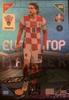 Panini Adrenalyn XL UEFA Euro 2020-2021 Luka Modric Top Master Rare Card