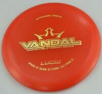 NEW Lucid Vandal 164g Driver Dynamic Discs Redish Golf Disc at Celestial