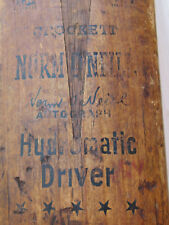 Cricket Bat Crockett Norm O'Neill Autograph Hydromatic Vintage Collectable
