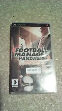 Football Manager Handheld 2009 (Sony PSP, 2008) - European Version - Version 2