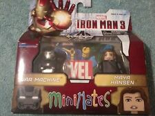 2013 Minimates Marvel Iron Man 3  War Machine & Maya Hansen (New)