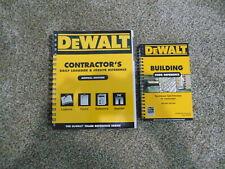 DEWALT Contractors logbook & Jobsite reference Plus Building code reference
