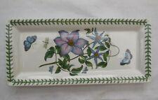 Portmeirion Botanic Garden Virgins Bower (Clematis) Sandwich Tray Plate