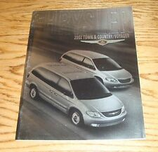 Original 2002 Chrysler Town & Country / Voyager Deluxe Sales Brochure 02