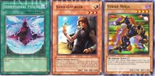 Duke Devlin Complete Deck  - Strike Ninja - Skull Dice - Yugioh - NM - 40 Cards