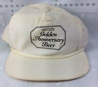 Vintage Koch's Golden Anniversary Beer Hat Snapback Adjustable Breweriana