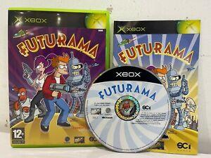 Original Xbox - Futurama - Complete With Manual UK Stock - Xbox 360 Compatible