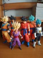 Dragon Ball Figure Goku Gohan Vegeta Super Saiyan Lot of 6 Bundle Sale
