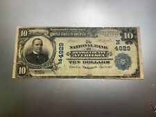 New listing Chelsea, Vermont 1902 National Bank Note. Charter 4929.