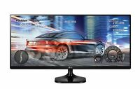 LG 25UM58-P 25 inch 21:9 Ultra Wide IPS Monitor w/ Split Screen Great for Gaming