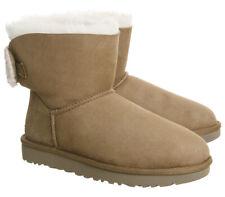 fbd85563e42 UGG Australia Patternless Leather Upper Material Boots for Women | eBay