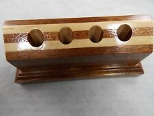 Wooden Pen Holder For 4 Fountain Pens-Beautiful