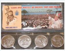 WHOLESALE LOT OF 100 CONGO 4 PIECE  FRANC POPE JOHN PAUL II SETS