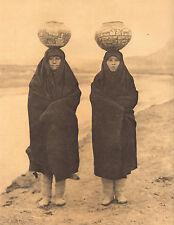 "EDWARD CURTIS Indian Tribe ""ZUNI GIRLS AT RIVER"" Native American Book Print"