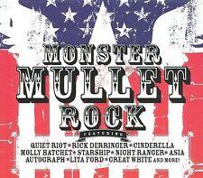 Monster Mullet Rock CD 2 Discs (Guns Crue Quiet Riot Travers Dio Hatchet Dokken