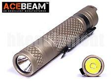 ACEBeam M10 Cree XP-G3 S5 LED 224lm AA 14500 LED Flashlight Tan
