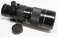 AS IS Canon New FD 85-300mm f/4.5 Zoom MF Lens Made In Japan