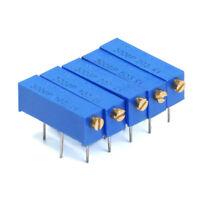 3006P Adjustable Precision Multiturn Resistor Potentiometer 1K 2K 10K 20K ~ 100K
