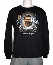 Such is Life - Ned Kelly Long Sleeve Black T Shirt  Sizes : S, M,L, XL, XXL, 3XL