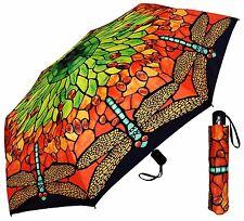 "42"" Tiffany Lamp Shade Auto-Auto Mini Umbrella - RainStoppers Rain/Sun UV"