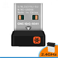 2.4GHz USB 6 Devices Logitech Unifying Receiver Wireless Dongle Keyboard Mouse