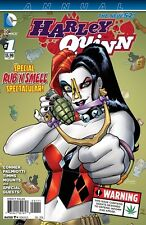 HARLEY QUINN ANNUAL #1 RUB 'N SMELL SPECTACULAR CANNABIS POT WEED SCENT BAGGED