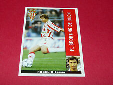 ROGELIO LAMAR R. SPORTING GIJON PANINI LIGA 95-96 ESPANA 1995-1996 FOOTBALL