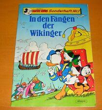 Micky Maus Sonderheft In der Fängen der Wikinger Donald Duck ehapa 1989