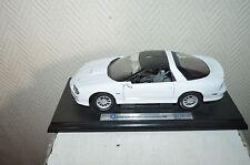 VOITURE  GM CHEVROLET CAMARO SS BY WELLY   VINTAGE 1981 DIE-CAST CAR