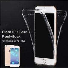 360 Front + Back shockproof TPU Clear Gel Case Cover For iPhone 5 5s SE Model