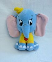 DUMBO BLUE PLUSH SOFT TOY TEDDY - WHITEHOUSE LEISURE APPROX 10""
