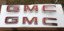 2019 - 2020 GMC Sierra Truck Grille/Multipro Tailgate Emblem Set OEM