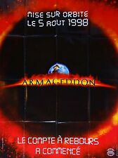 Affiche 120x160cm ARMAGEDDON 1998 Bruce Willis, B. Bob Thornton, Steve Buscemi