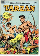 Tarzan (Dell) #12 1949 Overstreet VERY FINE (8.0)  Edgar Rice Burroughs  RARE !