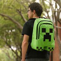 Minecraft Creeper Back Pack School Bag CosPlay Merchandise   JINX 100% GENUINE