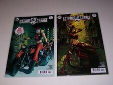 Gotham City Garage #1 Regular and Variant Cover set Unread 1st print
