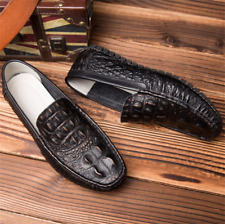 NEW Men's Crocodile Alligator Leather Business Dress Formal Casual Oxfords Shoes