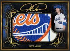Topps Bunt JACOB deGROM Museum Collection JUMBO Signature Relic Limited *DIGITAL
