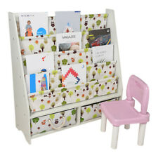 5-Tire Baby Bookshelf Children's Magazine Picture Book Shelf Storage Rack+Drawer