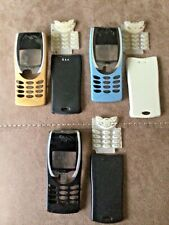 NOKIA 8210 REPLACEMENT FRONT FASCIA HOUSING CASE, BATTERY COVER & KEYPAD