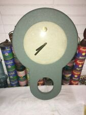 Great 1980s Vintage Empire Art Products Co. Large Wall Clock Memphis Style