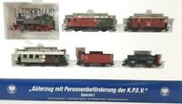 LIMITED ED. FLEISCHMANN 4902, ROYAL PRUSSIAN KPEV PASSENGER GOODS SET, DCC READY