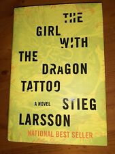 The Girl With The Dragon Tattoo  Hardcover  W Dust Jacket