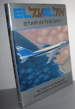 El Al Star in the Sky by Marvin G. Goldman (1990, Hardcover) Boeing, Jet book