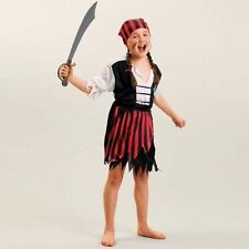 Pirate Polyester Fancy Dresses for Girls