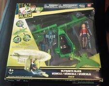 "New 2010 Ben 10 Ultimate Alien Vehicle W/ Gwen Figure 3 3/4"" Ban Dai"