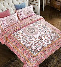 Bohemia Earth Elegant Duvet Quilt Cover With 2 Pillowcases Bedding Set King Size