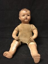 Vintage Ideal Cloth and Composition Doll No 20