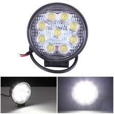 27W 12V LED Car Auto Truck Offroad Work Spot Light Driving Lamp Bulbs Waterproof